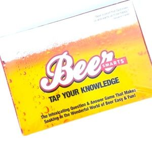 BEER SMARTS Tap Your Knowledge Trivia Game. New